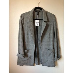 Houndstooth blazer, never worn, tags on